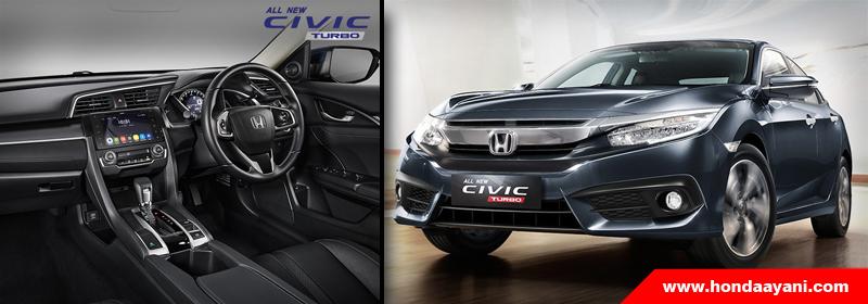 All New Honda Civic Turbo Kuasai 75% Pangsa Pasar Medium Sedan Pada Bulan April 2017
