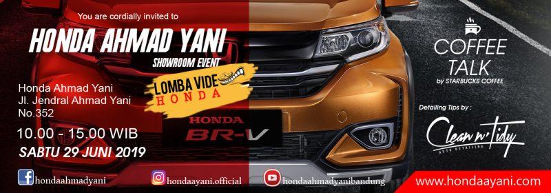Honda Weekend Sale Akhir Juni 2019