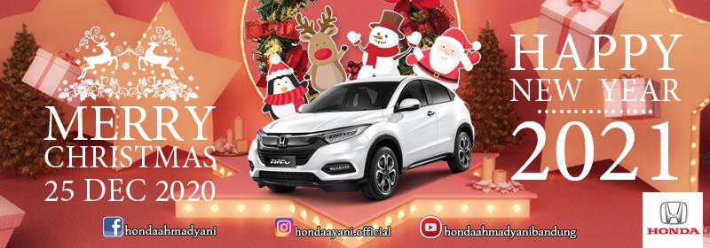 Honda, Selamat Hari Raya Natal & Tahun Baru 2021