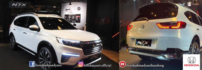Selain N7X, Ini 3 Mobil Konsep Honda yang Pernah Debut di Indonesia!