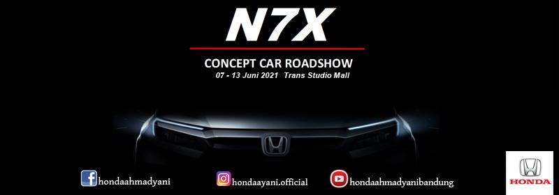 Honda N7X Concept Car Roadshow