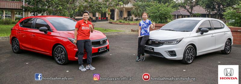 Apresiasi Prestasi Atlet Peraih Emas Olimpiade, Honda Serahkan Dua Unit Honda City Hatchback RS Kepada Greysia Polii dan Apriyani Rahayu